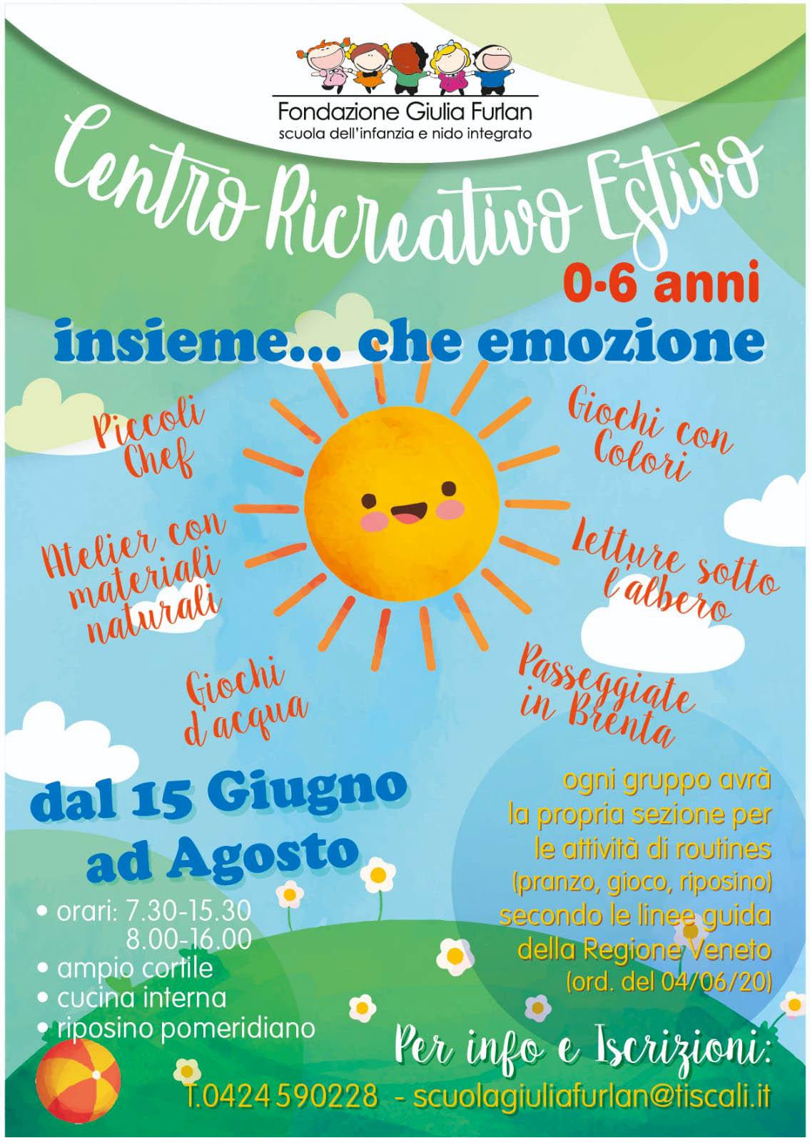 Scuola Infanzia Cartigliano - Centro Estivo 2020